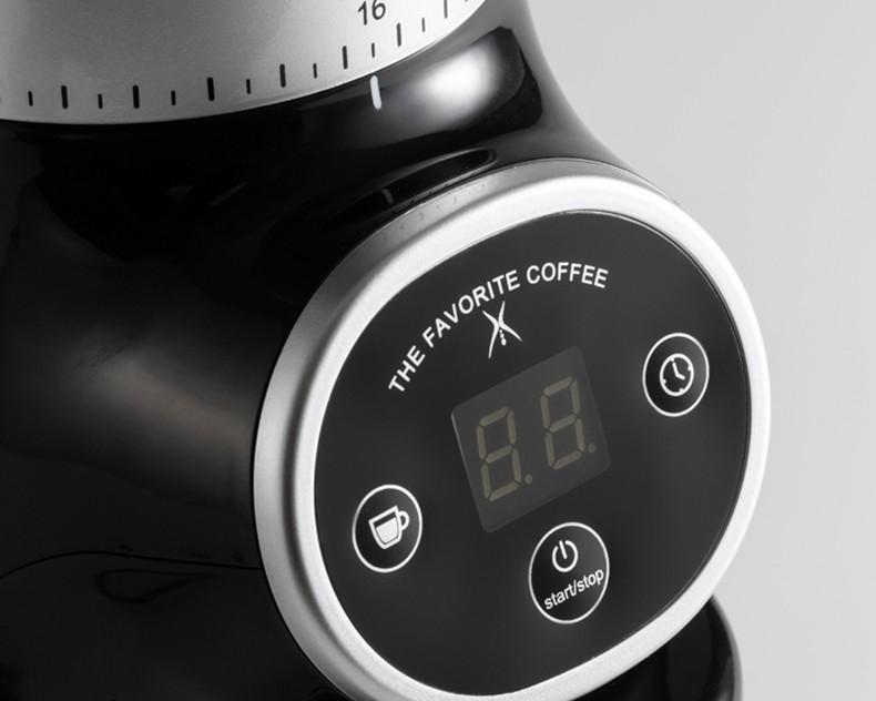 Electric Timing Coffee Grinder