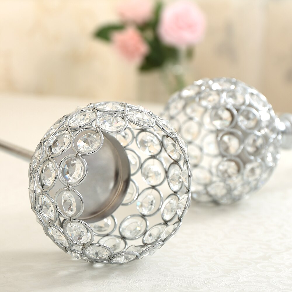 Crystal Candle Holders for Home Decoration